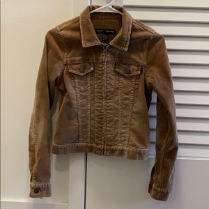 Abercrombie & Fitch Cropped Corduroy Jacket